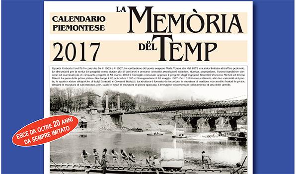 Calendario Piemontese 2017
