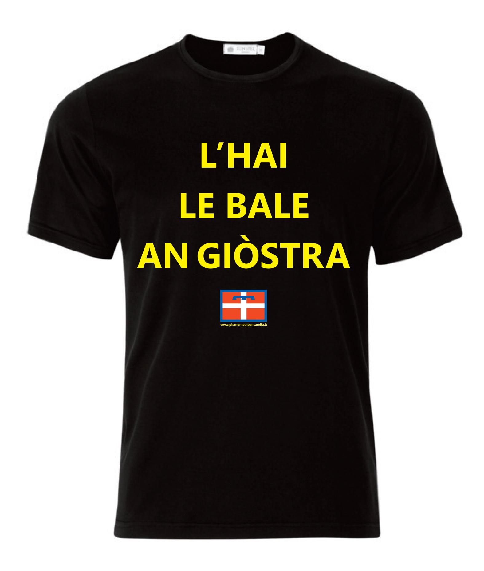 T-Shirt in Piemonteste