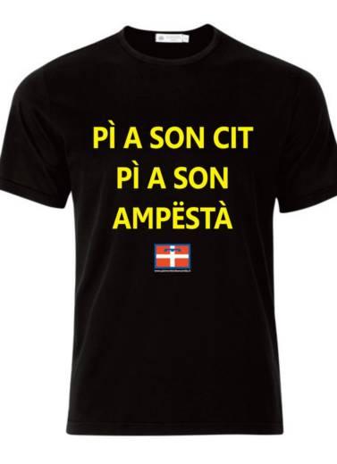 Maglietta - Pi a son Cit Pia A Son Ampesta