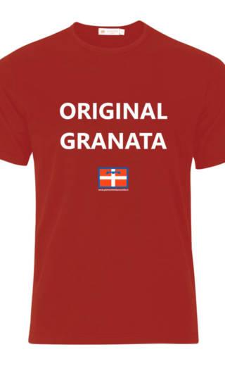 MAGLIETTA – T-SHIRT – ORIGINAL GRANATA