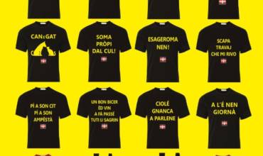 IDEA REGALO T-SHIRT IN PIEMONTESE